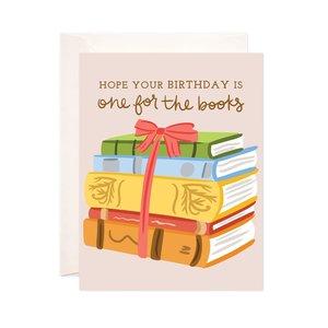 Bloomwolf Studio Card | Birthday | Books