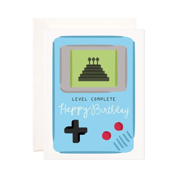 Bloomwolf Studio Card | Birthday | Level Complete