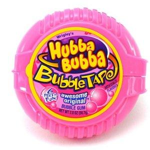 Nassau-Hobbs & Dobbs Candy   Tape Gum   Hubba Bubba Original