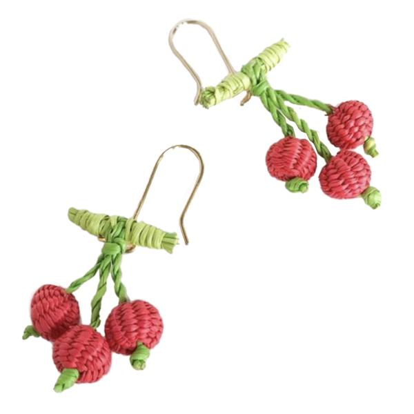 Belart Earrings   Mini Fruit Iraca