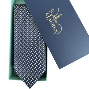 William & Lauren Neck Tie | Scissortail Silk