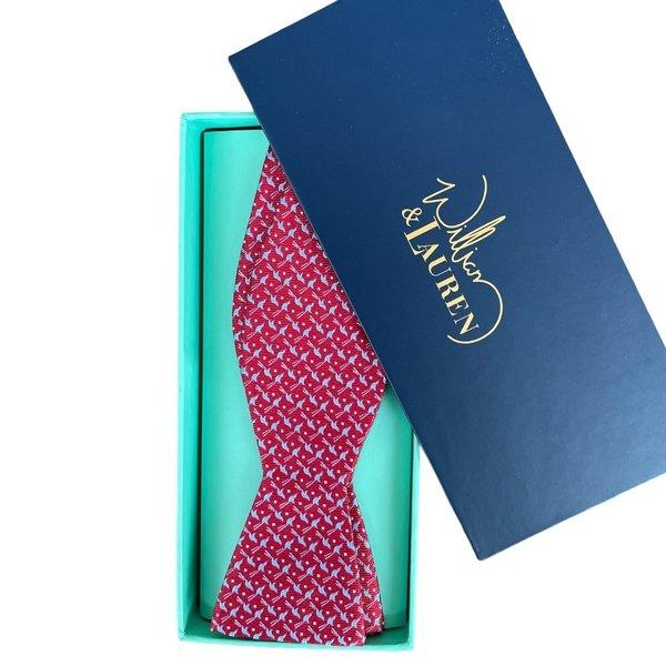 William & Lauren Bow Tie | Scissortail Silk