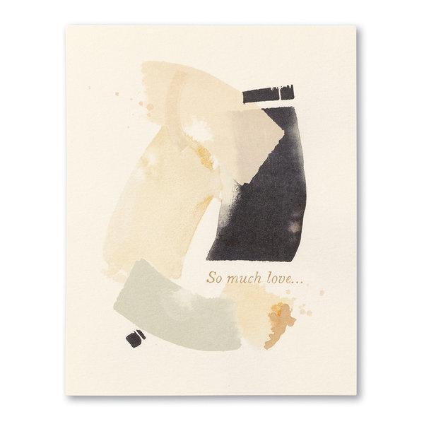 Compendium Card   Sympathy   So Much Love