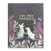 Compendium Card | Encouragement | Let's Hold Hands