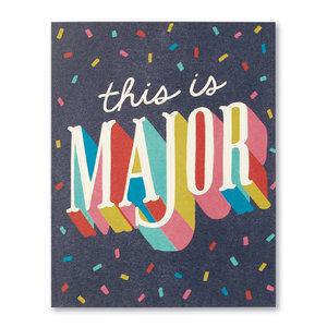 Compendium Card | Congrats | This Is Major