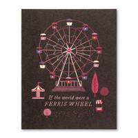Compendium Card   Friendship   World Ferris Wheel