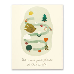 Compendium Card | Thanks | Good Places in the World