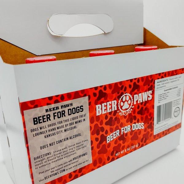 "Beer Paws Pet Treat | Craft Dog ""Beer"""