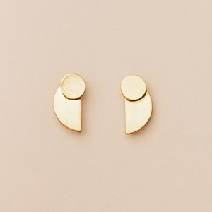 Scout Curated Wears Earrings | Eclipse Stud