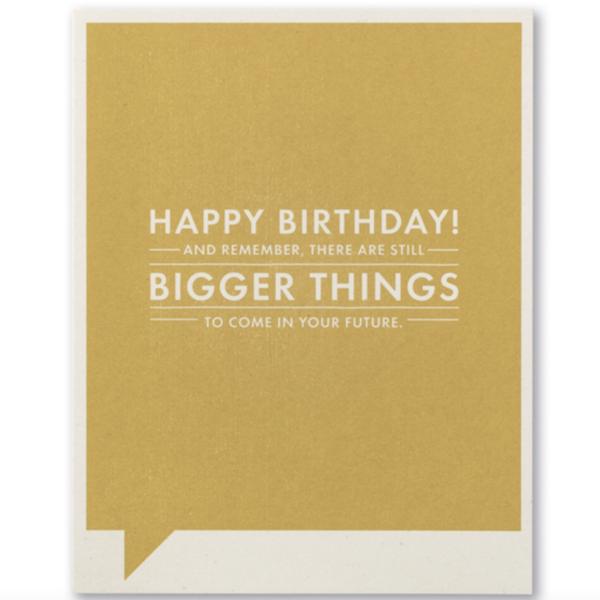 Compendium Card | Birthday | Bigger Things