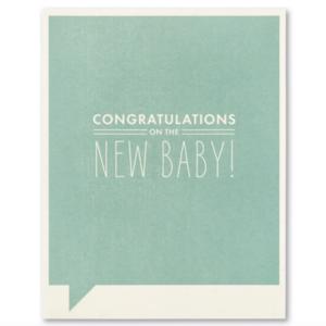 Compendium Card | Baby | Congrats New Baby