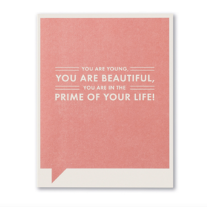 Compendium Card | Birthday | You Are Young