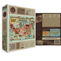 True South Puzzle Co Puzzle | 500pc | Route 66