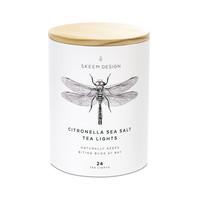 Skeem Candle | Tea  Lights | Citronella Sea Salt