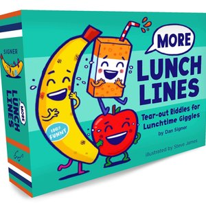 Chronicle Books Book | More Lunch Lines