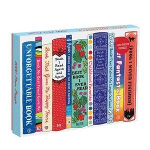 Chronicle Books Puzzle | 1000pc | Ideal Bookshelf