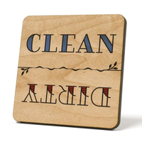 American Brand Studios Dishwasher Magnet | Simple Line