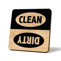American Brand Studios Dishwasher Magnet   Black