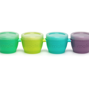 Melli Baby Baby Food Container | Snap & Go Pods 4pack