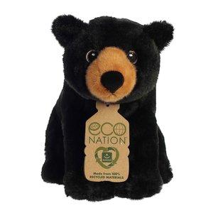 Aurora Toy | Eco Plush Animal | Black Bear