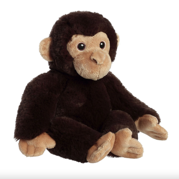 Aurora Toy   Eco Plush Animal   Chimpanzee