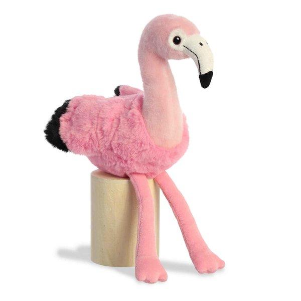 Aurora Toy   Eco Plush Animal   Flamingo