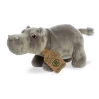 Aurora Toy   Eco Plush Animal   Hippopotamus