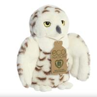 Aurora Toy | Eco Plush Animal | Owl