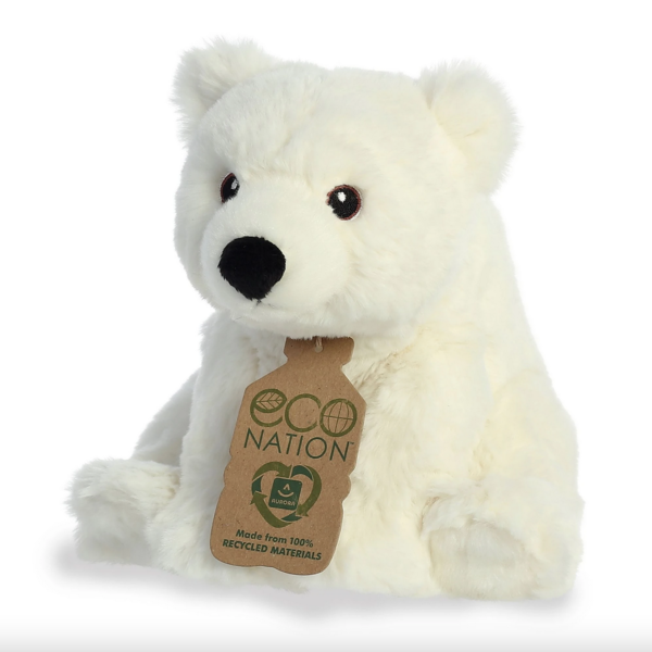 Aurora Toy   Eco Plush Animal   Polar Bear