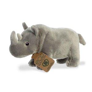 Aurora Toy | Eco Plush Animal | Rhinoceros
