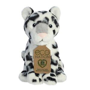 Aurora Toy | Eco Plush Animal | Snow Leopard