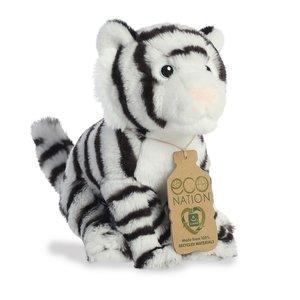 Aurora Toy | Eco Plush Animal | White Tiger