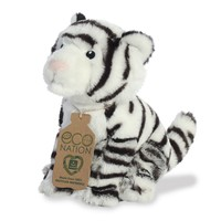 Aurora Toy   Eco Plush Animal   White Tiger