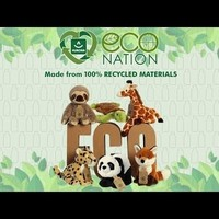 Aurora Toy   Eco Plush Animal   Rhinoceros