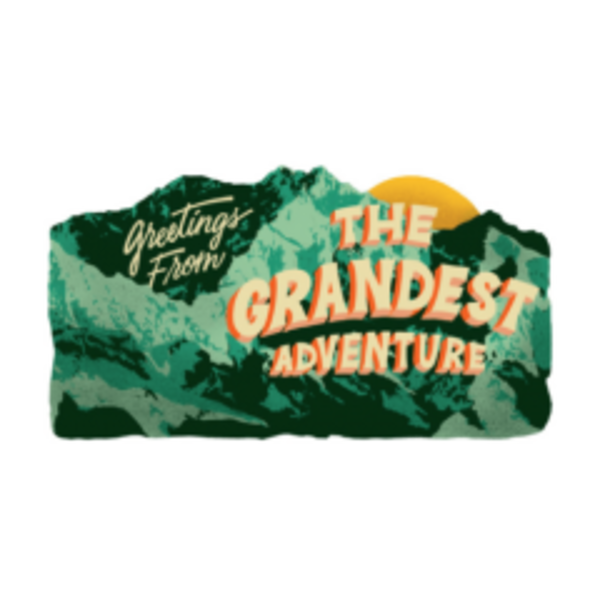 Gibbs Smith Card   Plaque   Greetings from the Grandest Adventure