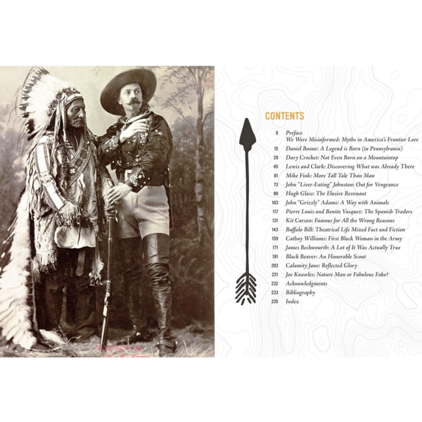 Gibbs Smith Book   Real Dirt on America's Frontier Legends