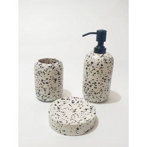 Handicraft Street Toothbrush Cup | Stone Terrazzo