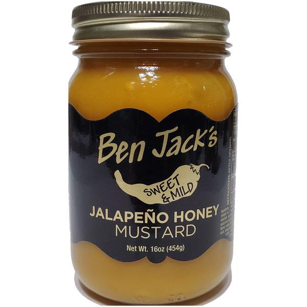 Ben Jack Larado's Mustard | Jalapeno Honey