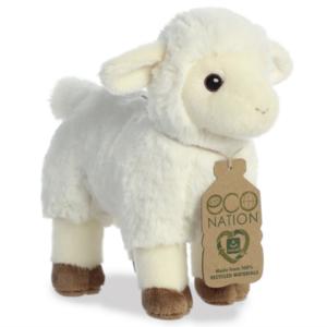 Aurora Toy | Eco Plush Animal | Lamb