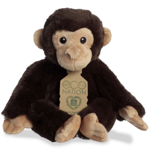 Aurora Toy | Eco Plush Animal | Chimpanzee