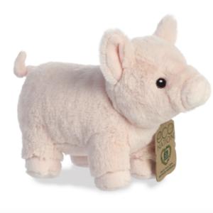 Aurora Toy | Eco Plush Animal | Pig