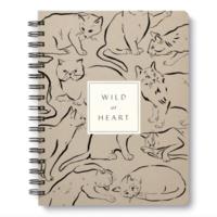Compendium Notebook   Wire-O   Wild At Heart