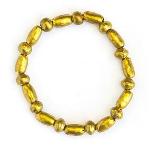Fair Anita Bracelet|Upcycled Artillery|Gold Shell