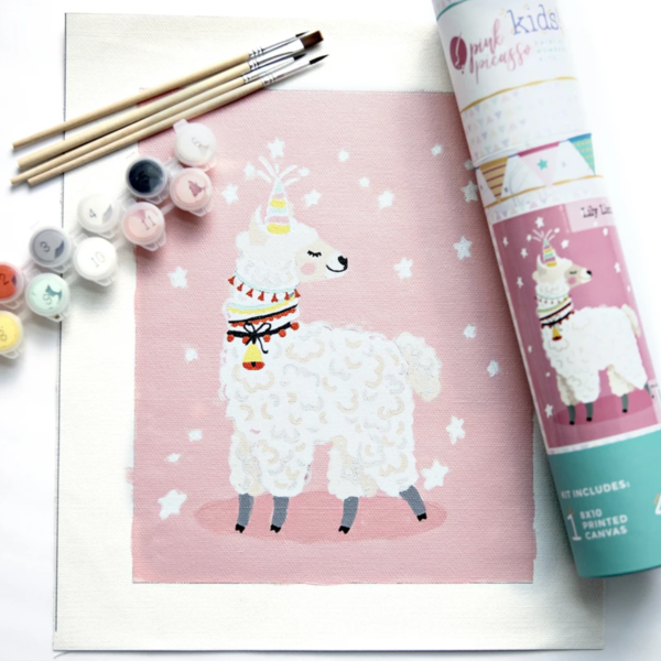 Pink Picasso Kit   Paint-by-Numbers Kids