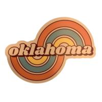 Stickers Northwest Sticker | Oklahoma | Grateful Arcs