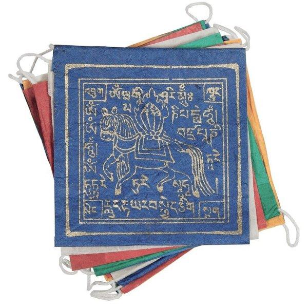 dZi Handmade Tibetan Prayer Flags   Windhorse