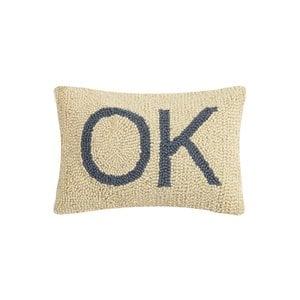 Peking Handicraft Pillow | Hook Rectangular | OK