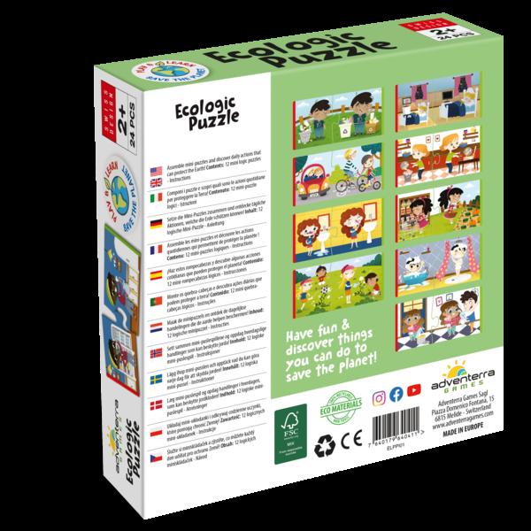 Adventerra Games Puzzle | Ecologic | Respect the Earth