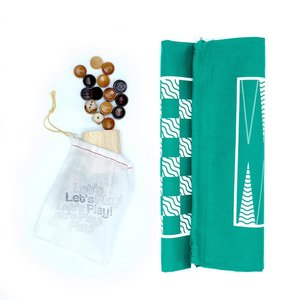 A Summer Shop Travel Game   Backpack   Backgammon/Checkers