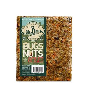 Mr. Bird Bird Seed | Bugs Nuts & Fruit Cake
